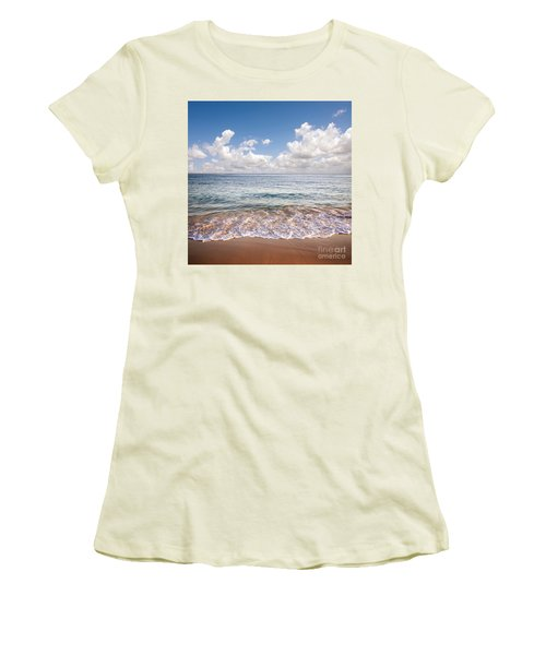 Seascape Women's T-Shirt (Athletic Fit)