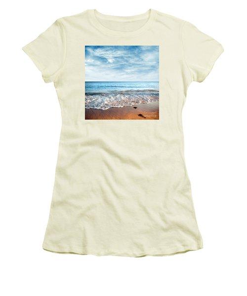 Seashore Women's T-Shirt (Junior Cut) by Carlos Caetano