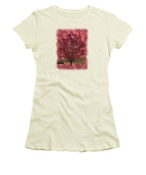 Seeing Red 2 Women's T-Shirt (Junior Cut) by John M Bailey