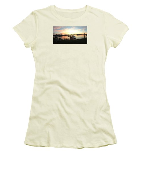 Serene Sunset Women's T-Shirt (Junior Cut)