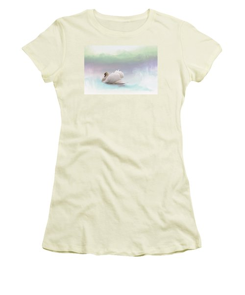 Women's T-Shirt (Junior Cut) featuring the photograph Serenity by Annie Snel
