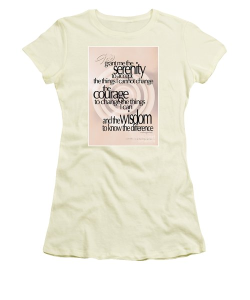 Serenity Prayer 06 Women's T-Shirt (Athletic Fit)