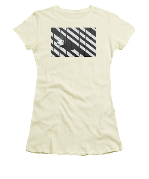 Women's T-Shirt (Athletic Fit) featuring the photograph Shadow by Jingjits Photography