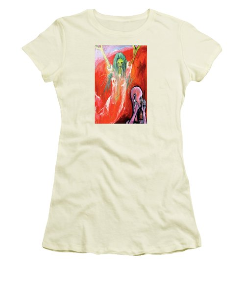 She-angel Women's T-Shirt (Athletic Fit)