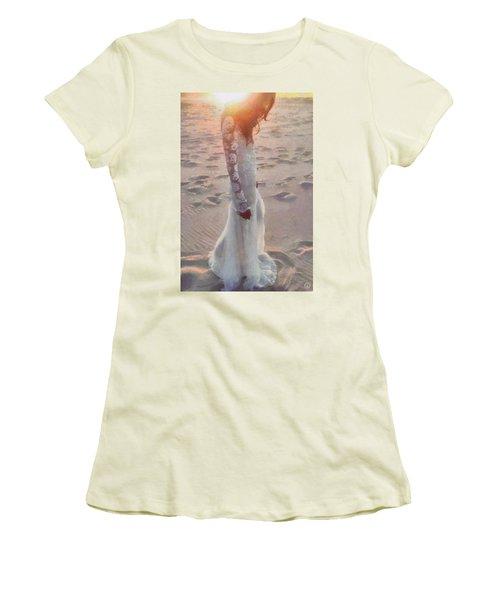 She Just Went Away Women's T-Shirt (Junior Cut) by Gun Legler