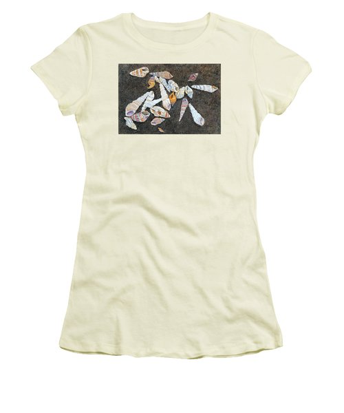 Shells From The Sea Of Galilee Women's T-Shirt (Athletic Fit)