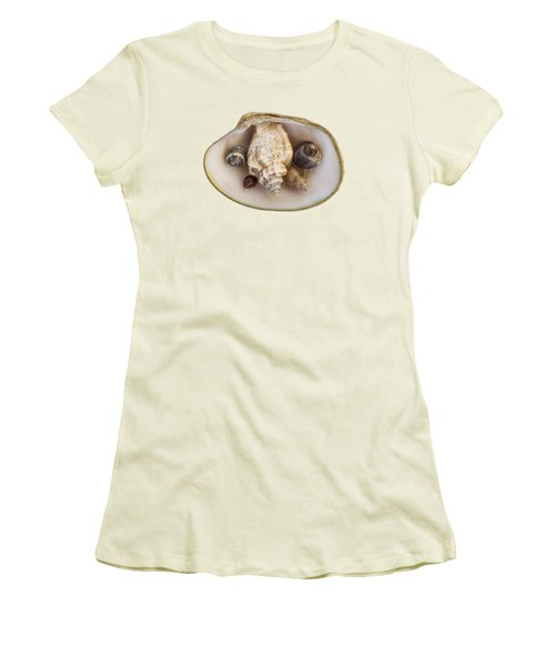 Shells Within A Sea Shell Women's T-Shirt (Athletic Fit)