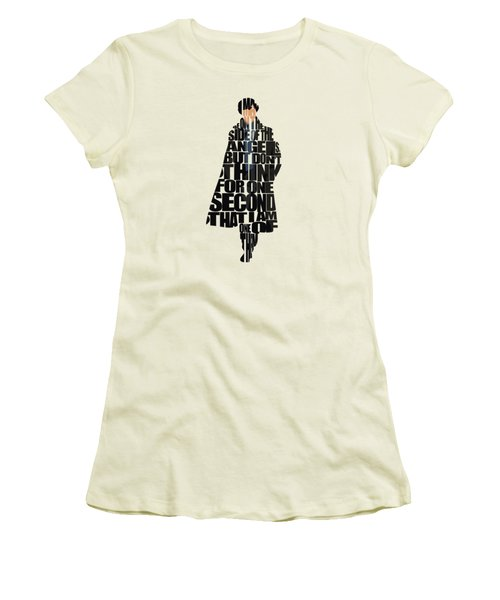 Sherlock - Benedict Cumberbatch Women's T-Shirt (Athletic Fit)
