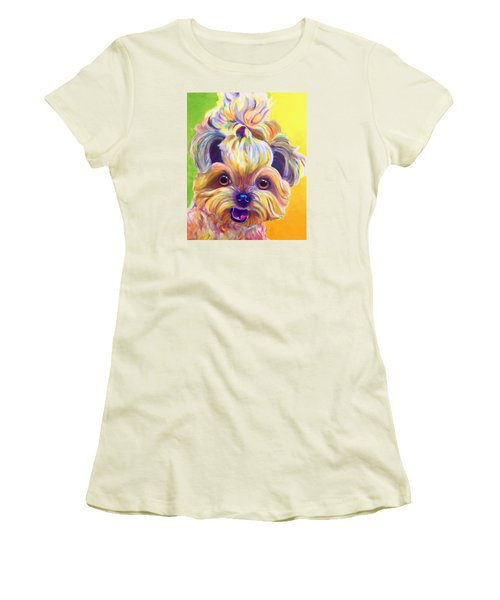 Shih Tzu - Bloom Women's T-Shirt (Athletic Fit)