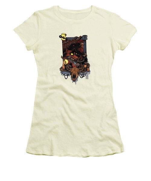 Shmignola Women's T-Shirt (Junior Cut) by Vicki Von Doom