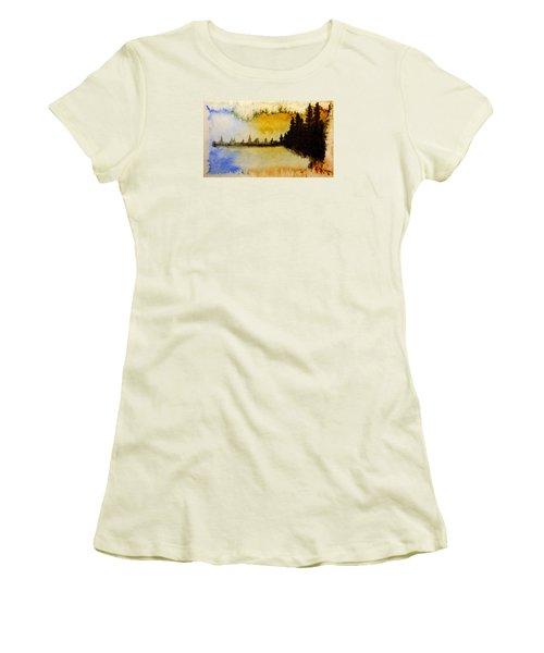 Shoreline 2 Women's T-Shirt (Junior Cut) by R Kyllo