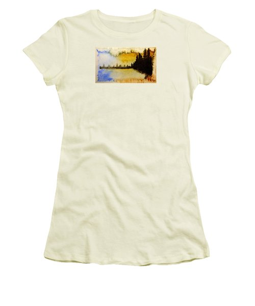 Shoreline 2 Women's T-Shirt (Athletic Fit)