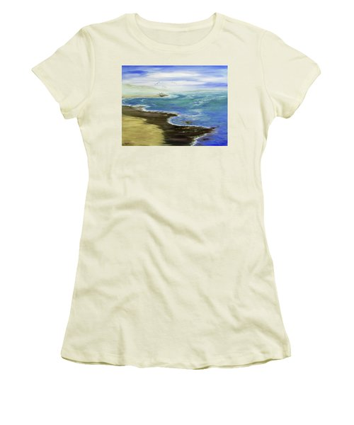 Shoreline Women's T-Shirt (Athletic Fit)