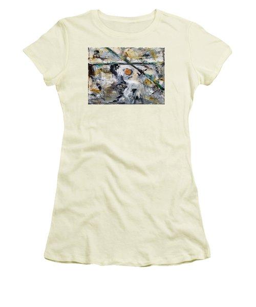 Sidewalk Penny Women's T-Shirt (Athletic Fit)