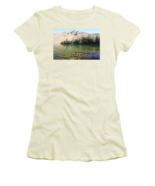 Women's T-Shirt (Athletic Fit) featuring the photograph Sierra Clarity by Sean Sarsfield