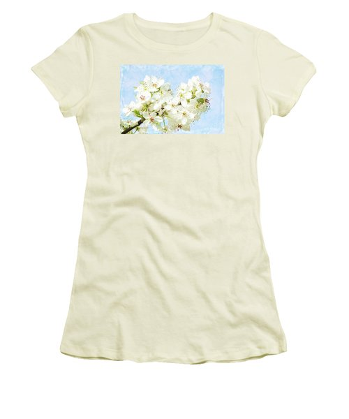 Signs Of Spring Women's T-Shirt (Junior Cut) by Inspirational Photo Creations Audrey Woods