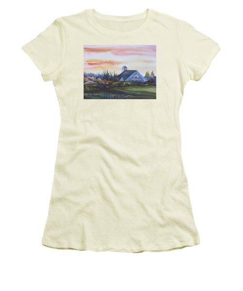 Silence Upon Midnapore Women's T-Shirt (Junior Cut) by Anna  Duyunova