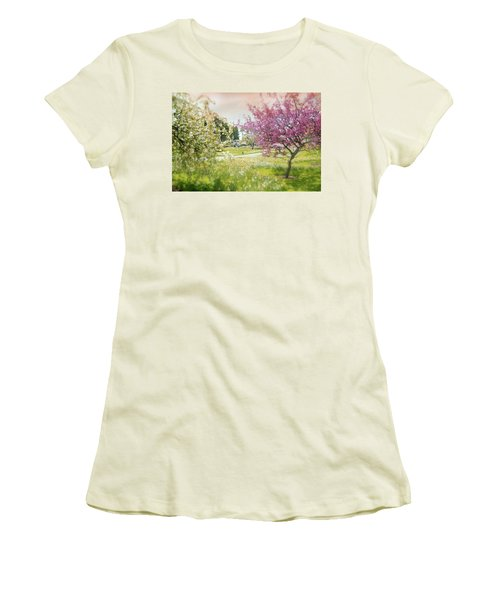 Women's T-Shirt (Junior Cut) featuring the photograph Silent Wish You Make by Diana Angstadt
