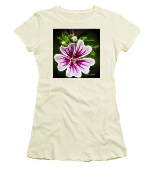 Simple Beauty Women's T-Shirt (Junior Cut) by Joann Copeland-Paul