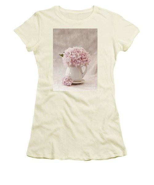 Simplicity Women's T-Shirt (Junior Cut) by Sherry Hallemeier