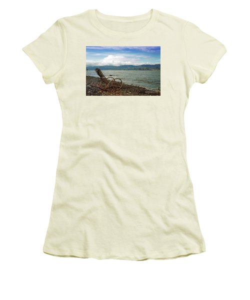 Sit Back And Enjoy Women's T-Shirt (Athletic Fit)