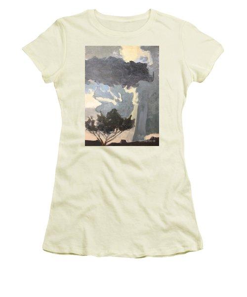 Sky Portal II Women's T-Shirt (Athletic Fit)
