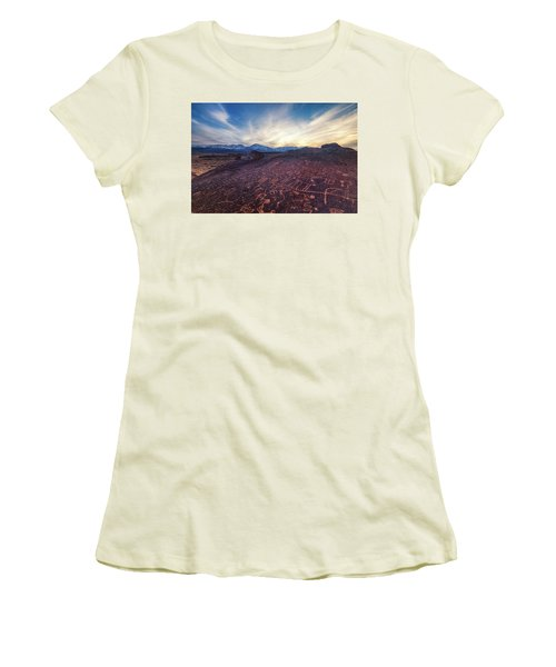 Sky Rock Women's T-Shirt (Athletic Fit)