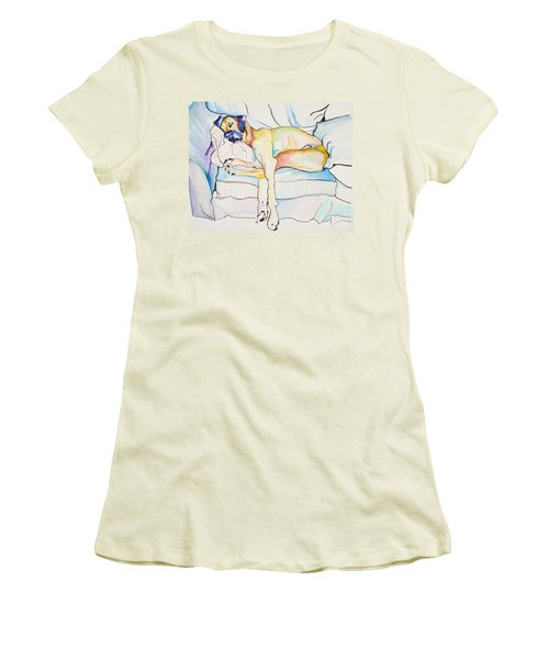 Sleeping Beauty Women's T-Shirt (Athletic Fit)