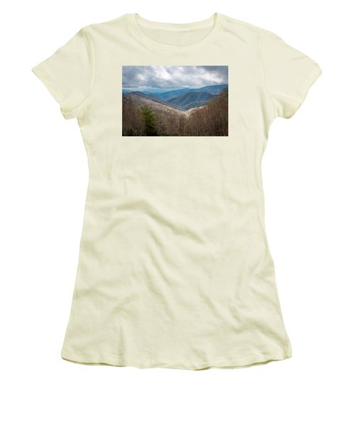 Smoky Mountains Women's T-Shirt (Athletic Fit)