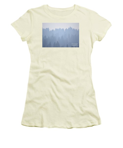 Smoky Pines Women's T-Shirt (Athletic Fit)