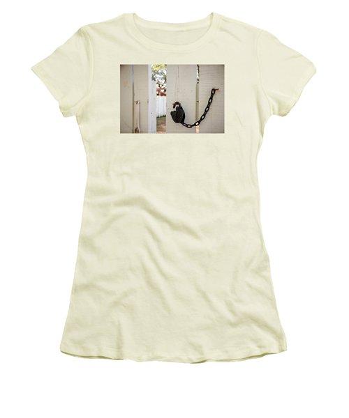 Sneaky Sneaky Women's T-Shirt (Junior Cut) by Stefanie Silva