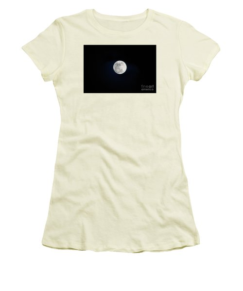 Snow Moon 4 Women's T-Shirt (Athletic Fit)