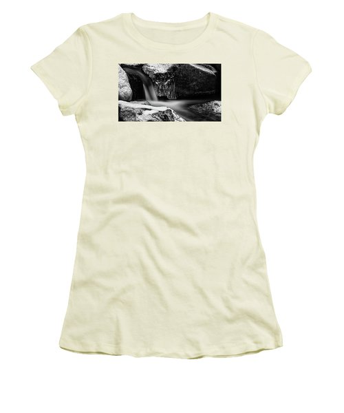 soft and sharp at the Bode, Harz Women's T-Shirt (Junior Cut) by Andreas Levi