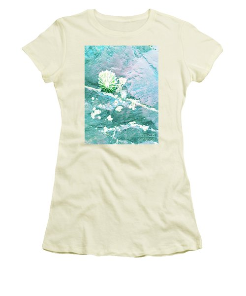 Women's T-Shirt (Athletic Fit) featuring the photograph Soft Shell by Rebecca Harman