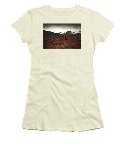 Song Women's T-Shirt (Junior Cut) by Mark Ross