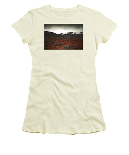 Women's T-Shirt (Junior Cut) featuring the photograph Song by Mark Ross