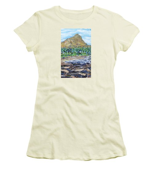 South African Coastline Part Two Women's T-Shirt (Athletic Fit)