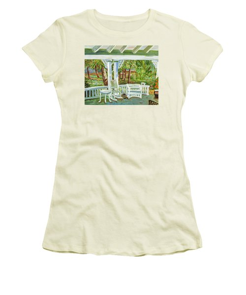 Southern Porches Women's T-Shirt (Athletic Fit)