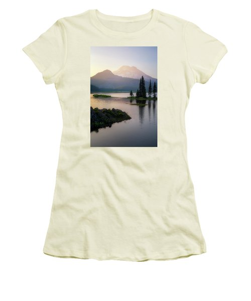 Spark Of Light Women's T-Shirt (Athletic Fit)