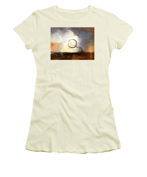 Sphere I Turner Women's T-Shirt (Junior Cut) by David Bridburg