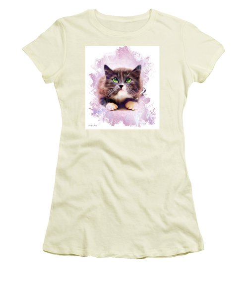 Spice Kitty Women's T-Shirt (Athletic Fit)