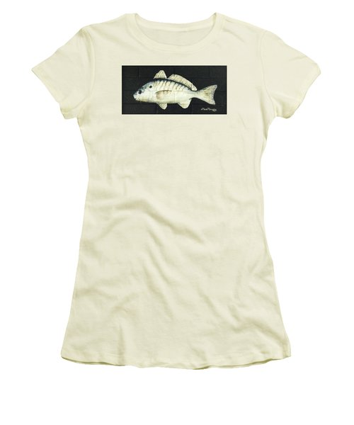 Women's T-Shirt (Junior Cut) featuring the painting Spot by Stan Tenney