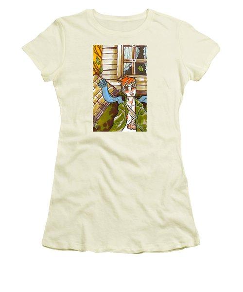 Autumnal Awakening Women's T-Shirt (Athletic Fit)