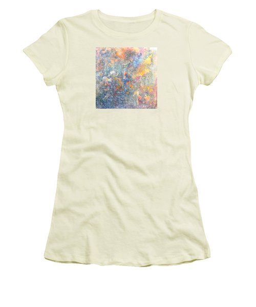 Spring Creation Women's T-Shirt (Junior Cut) by Theresa Marie Johnson