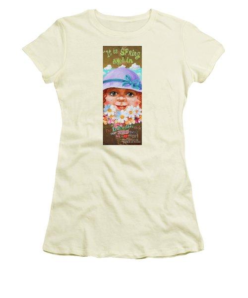 Spring Women's T-Shirt (Junior Cut) by Igor Postash