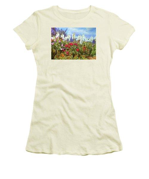 Women's T-Shirt (Junior Cut) featuring the photograph Spring by Munir Alawi