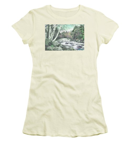 Spring Runoff Women's T-Shirt (Athletic Fit)