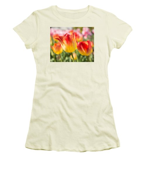 Women's T-Shirt (Athletic Fit) featuring the photograph Spring Touches My Soul by Julie Andel