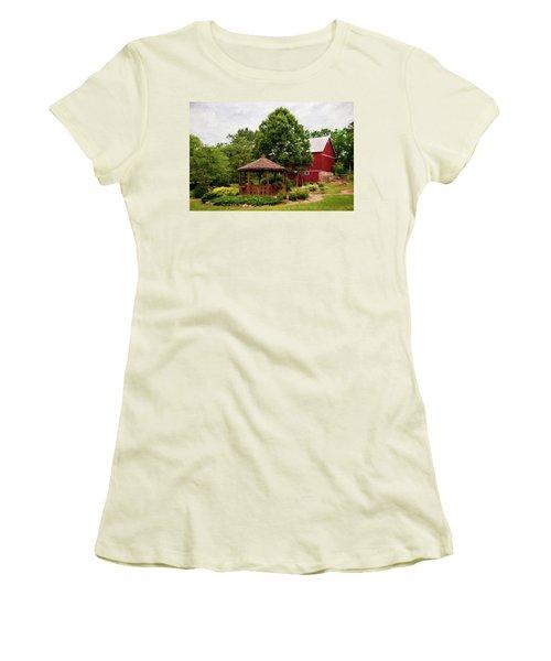 Springwater Park Women's T-Shirt (Junior Cut) by Trey Foerster