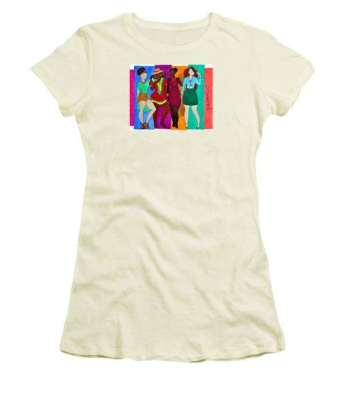 Squad Women's T-Shirt (Junior Cut) by Diamin Nicole